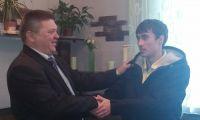 Служить  в морскую пехоту на Камчатку отправился наш культработник Дмитрий Зайцев
