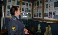 Полиция побывала в музее истории Шалинского района