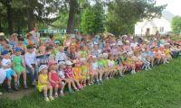 Детский праздник «Подари детям радость» в селе Платоново