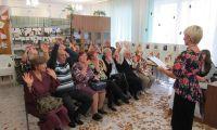 «Мудрый возраст»: в Шалинской центральной библиотеке чествовали представителей старшего поколения