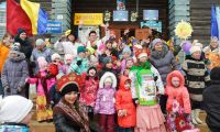 Масленичные гуляния в поселке Вогулка (фоторепортаж)