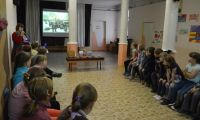 «Белые и красные»: программу для детей, посвященную событиям начала XX века, провела Шалинская детская библиотека