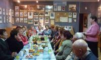 Праздничная встреча клуба «Воспоминание» в музее истории Шалинского района